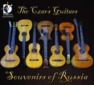 The Czar's Guitars: Souvenirs of Russia Product Image