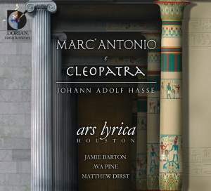 Hasse, J A: Marc' Antonio e Cleopatra Product Image