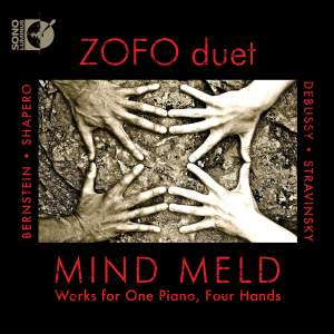 Mind Meld: Works for One Piano, Four Hands Product Image