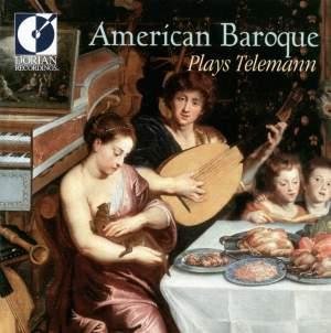 American Baroque plays Telemann Product Image