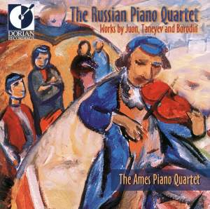 The Russian Piano Quartet: Works by Juon, Taneyev & Borodin Product Image