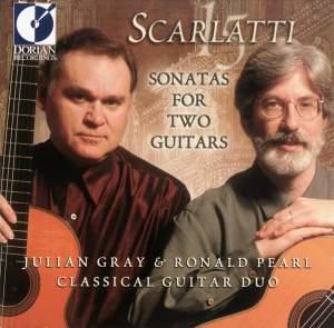 Domenico Scarlatti: Sonatas For Two Guitars Product Image