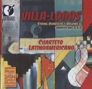 Villa-Lobos: String Quartets Nos. 4, 9 & 11 Product Image