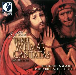 JS Bach: Three Weimar Cantatas Product Image