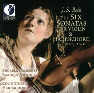 JS Bach: The Six Sonatas for Violin & Harpsichord Vol. 2 Product Image