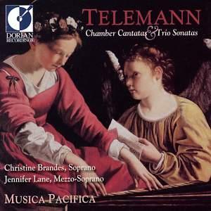 Telemann: Chamber Cantatas & Trio Sonatas Product Image