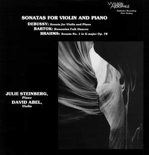 Sonatas for Violin & Piano Product Image