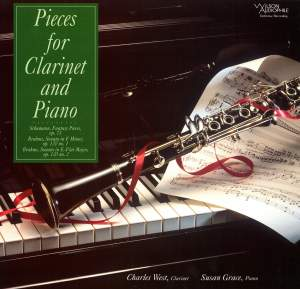Schumann & Brahms: Pieces for Clarinet & Piano Product Image