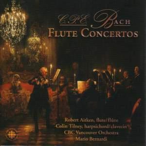 C.P.E. Bach: Flute Concertos & Sonatas