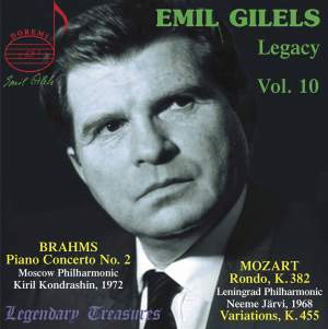 Emil Gilels Legacy Vol. 10