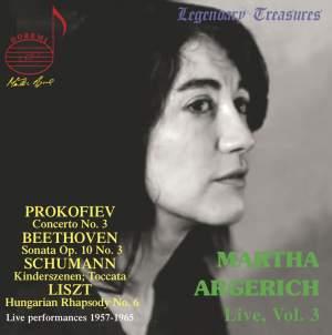Martha Argerich Vol. 3 - Prokofiev, Beethoven, Schumann