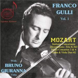 Mozart: Franco Gulli, Vol. 1