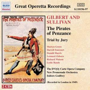Sullivan: The Pirates of Penzance & Trial by Jury Product Image