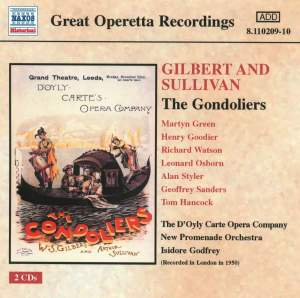 Sullivan, A: The Gondoliers Product Image