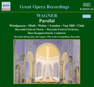 Wagner: Parsifal Product Image