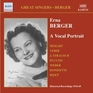 Great Singers - Erna Berger Product Image