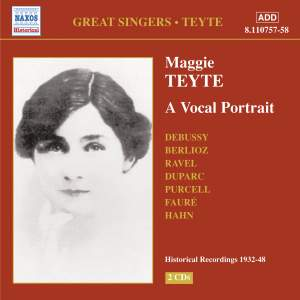 Great Singers - Maggie Teyte Product Image