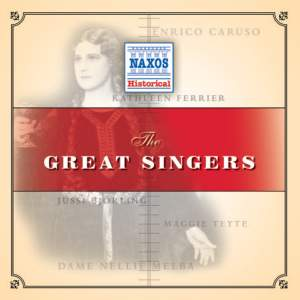 Great Singers (1904-1952) Product Image