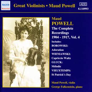 Great Violinists - Maud Powell Product Image