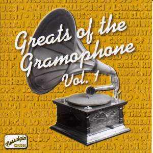 Greats of the Gramophone, Vol. 1 Product Image