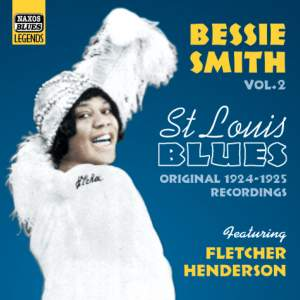 Bessie Smith Volume 2 - St. Louis Blues (1924-25) Product Image