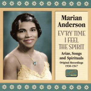 Marian Anderson - Ev'ry Time I Feel the Spirit Product Image