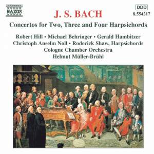 J. S. Bach: Concertos For Two, Three And Four Harpsichords Product Image