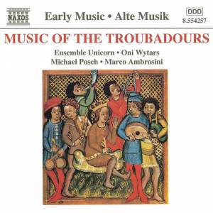 Music Of The Troubadours Product Image