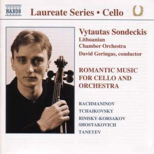 Cello Recital: Vytautas Sondeckis Product Image