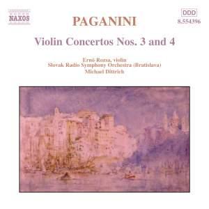 Paganini: Violin Concerto Nos. 3 & 4 Product Image