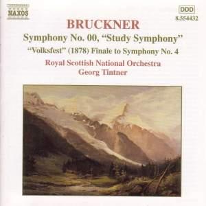 Bruckner: Symphonies Nos. 00 & 4 Product Image