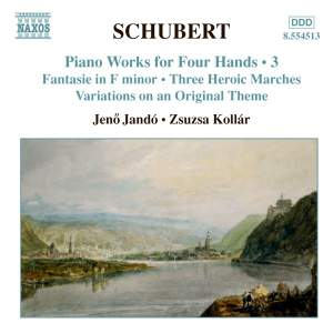 Schubert - Piano Works for Four Hands Volume 3 Product Image