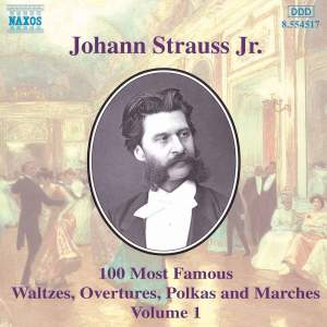 Johann Strauss II: 100 Most Famous Waltzes Vol. 1 Product Image