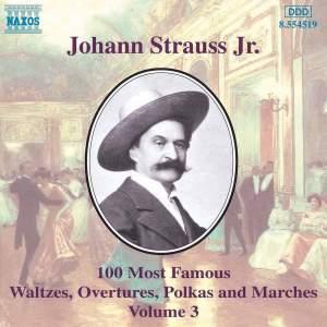 Johann Strauss II: 100 Most Famous Waltzes Vol. 3 Product Image