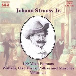 Johann Strauss II: 100 Most Famous Waltzes Vol. 4