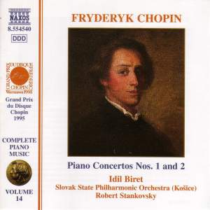 Chopin: Piano Concerto Nos. 1 & 2 Product Image