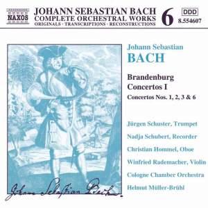 Bach, J.S.: Brandenburg Concertos, Vol. 1 Product Image