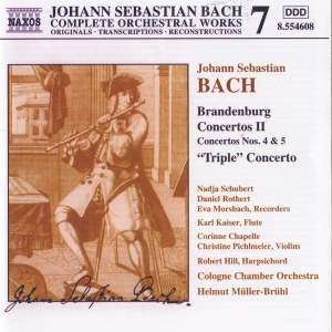Bach, J.S.: Brandenburg Concertos, Vol. 2 Product Image