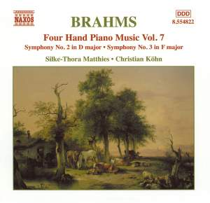 Brahms: Four-Hand Piano Music, Volume 7