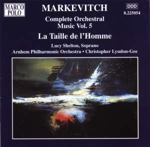 Igor Markevitch: Orchestral Music, Vol. 5 Product Image