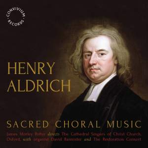 Henry Aldrich: Sacred Choral Music Product Image