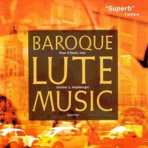 Kapsberger - Baroque Lute Music Vulume 1