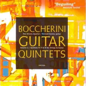 Boccherini: Guitar Quintets Nos. 4, 5 & 6