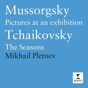 Mussorgsky & Tchaikovsky - Works For Piano