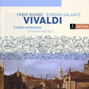 Vivaldi: L'estro armonico - 12 concerti, Op. 3 Product Image