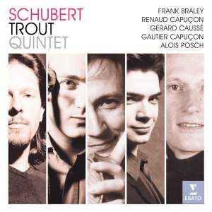 Schubert: Piano Quintet in A major, D667 'The Trout', etc.