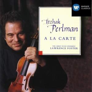 Itzhak Perlman: A la carte