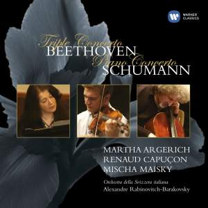Beethoven: Triple Concerto & Schumann: Piano Concerto Product Image