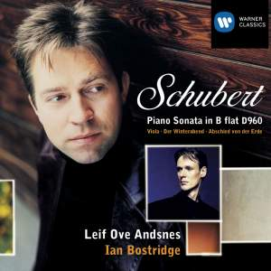 Schubert: Piano Sonata No. 21 in B flat major, D960, etc.