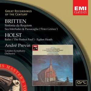Britten: Sinfonia da Requiem, Op. 20, etc.